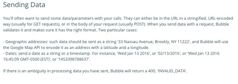 Bubble API - POST Data - Question - Bubble Forum