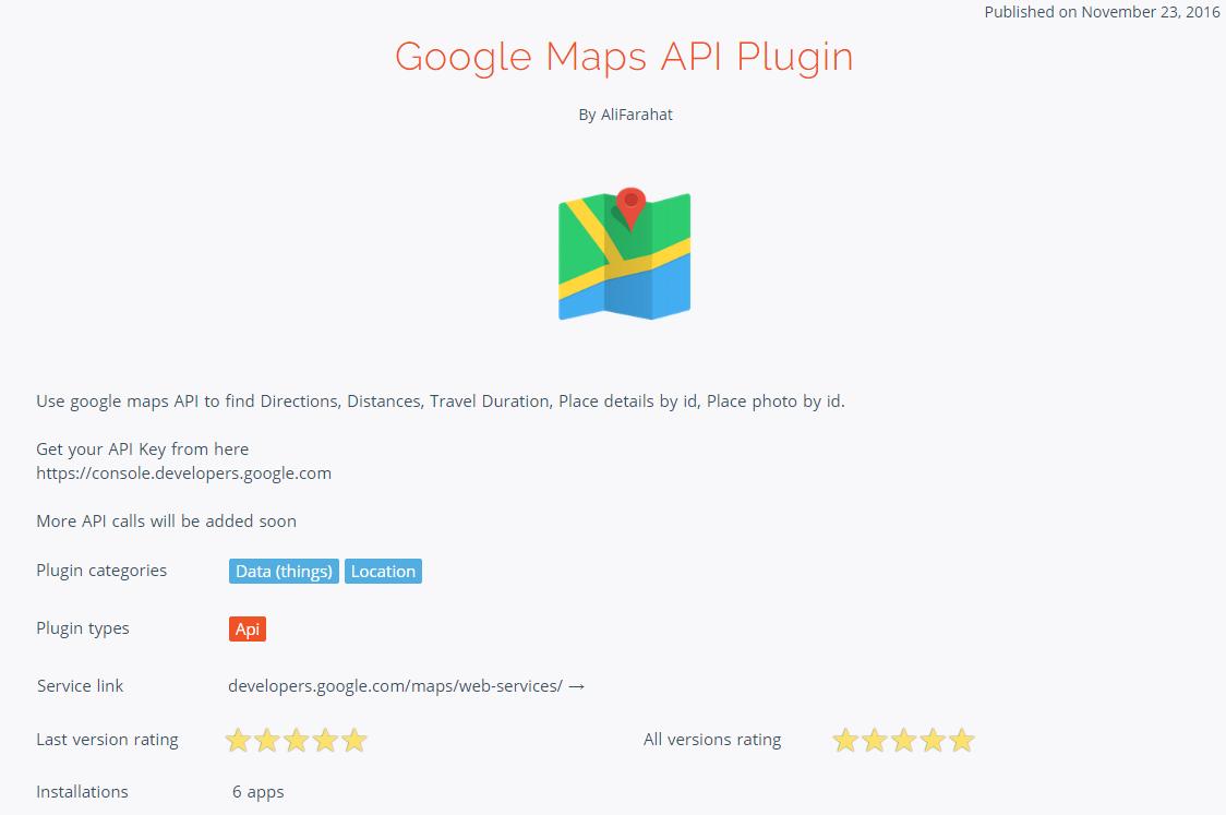 Google Maps Plugin - Updated - Showcase - Bubble Forum