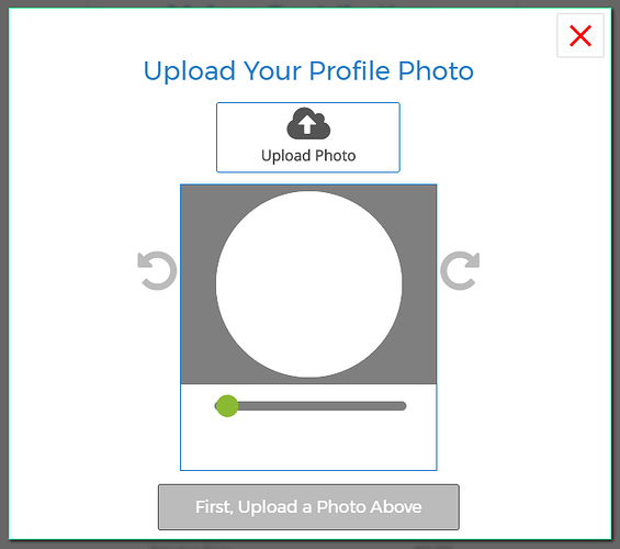 Croppie - element plugin to crop and zoom images before