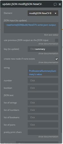 JSON MAchine Update