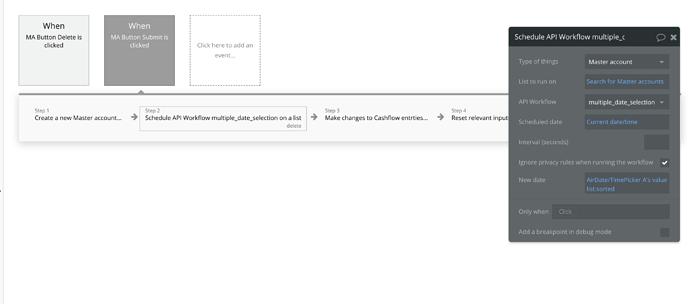 Schedule API