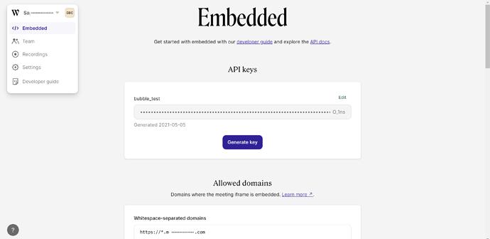 whereby embedd