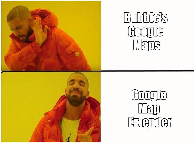 Bubble Google Map Extender