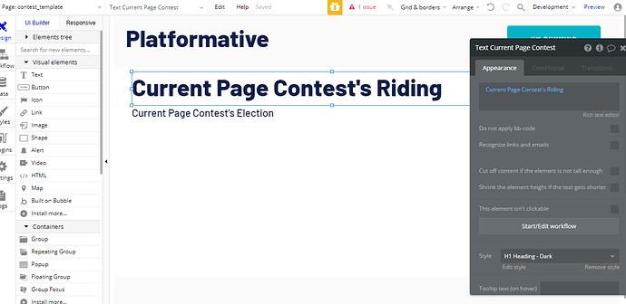 currentn page contests reiding