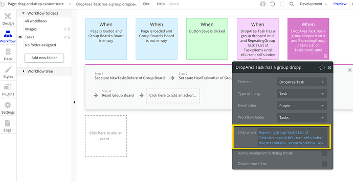WorkflowConditional