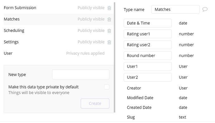 screenshot matches & users
