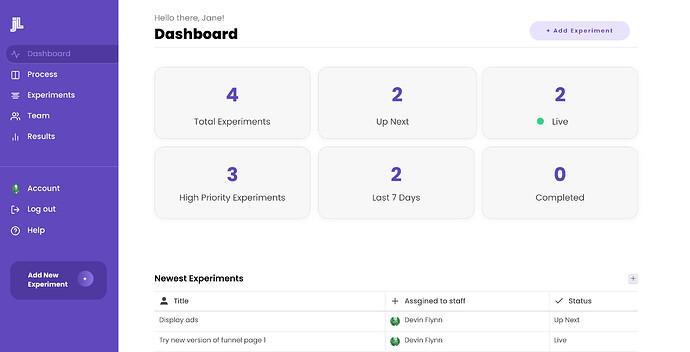 dashboard-jetlab