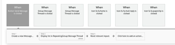 Send Message Workflow