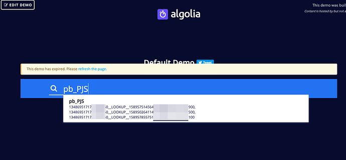 algolia-demo-search
