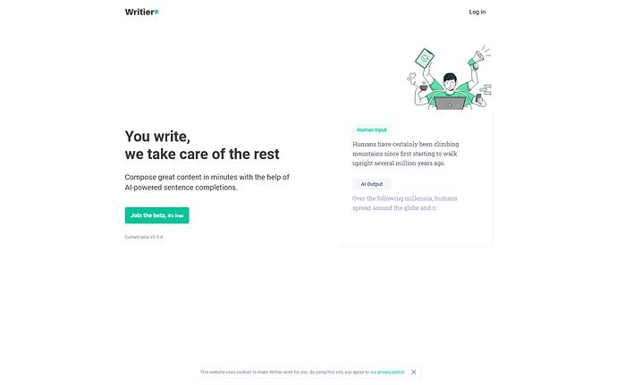 Writier- Home