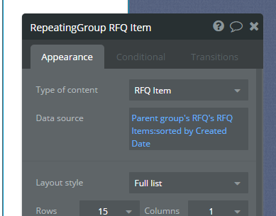 Auto Scrolling to bottom of Repeating Group or Add to top of