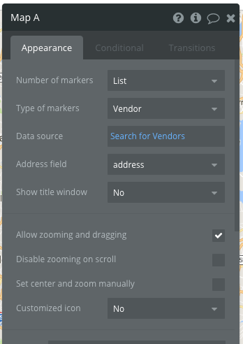 Display multiple addresses from Bubble database as markers ... on address home, address email, address locator, address search, address numbers, address letter, address art,