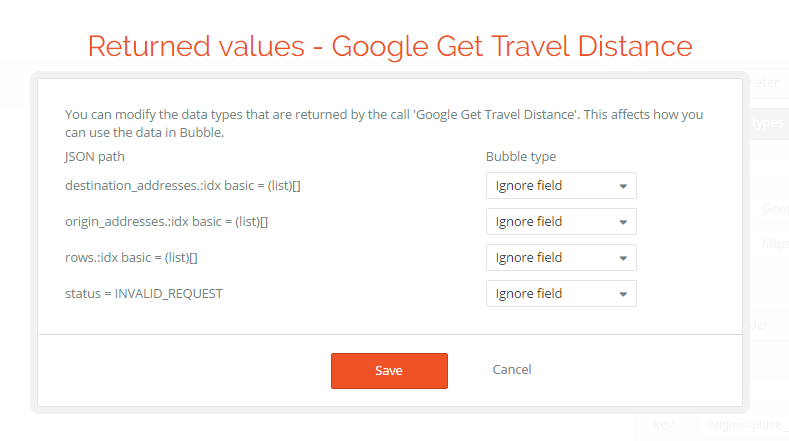 SOLVED] Bubble API connector - Google Distance Matrix - Need