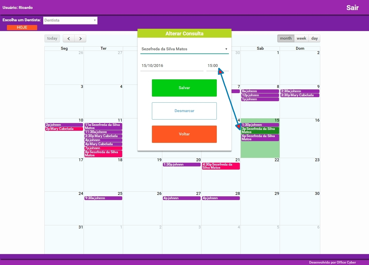 FullCalendar error in a Day Click and Drag & Drop - Closed