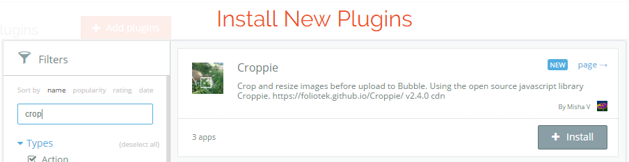 Picture Uploader with crop option - Need help - Bubble Forum