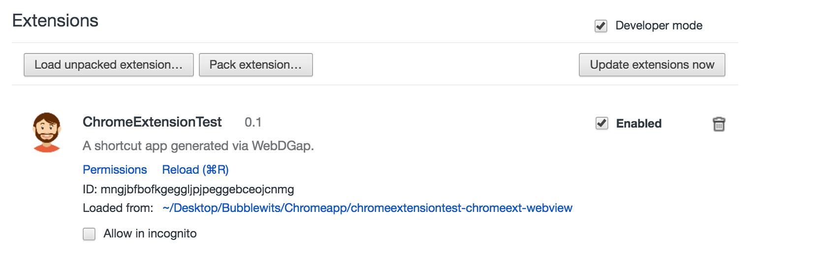 Bubble Based Chrome Extension - Get current URL - Plugins - Bubble Forum