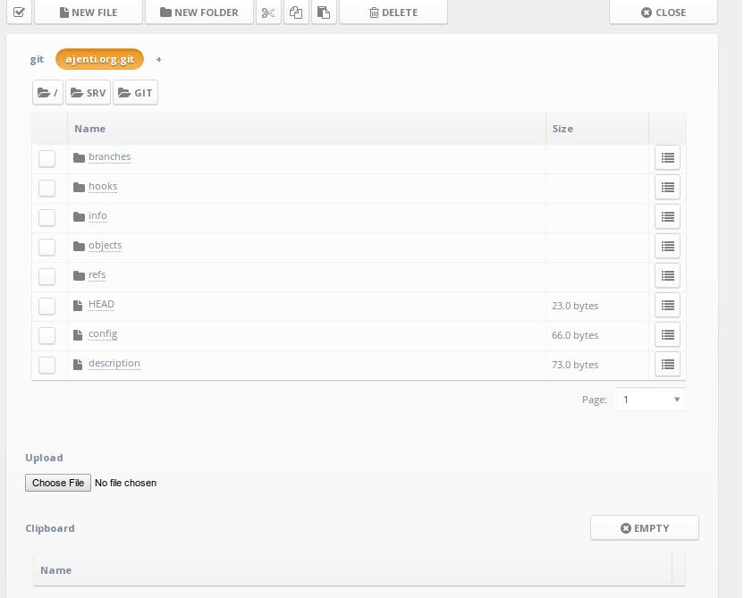 File manager plugin (plus Git) - Idea - Bubble Forum