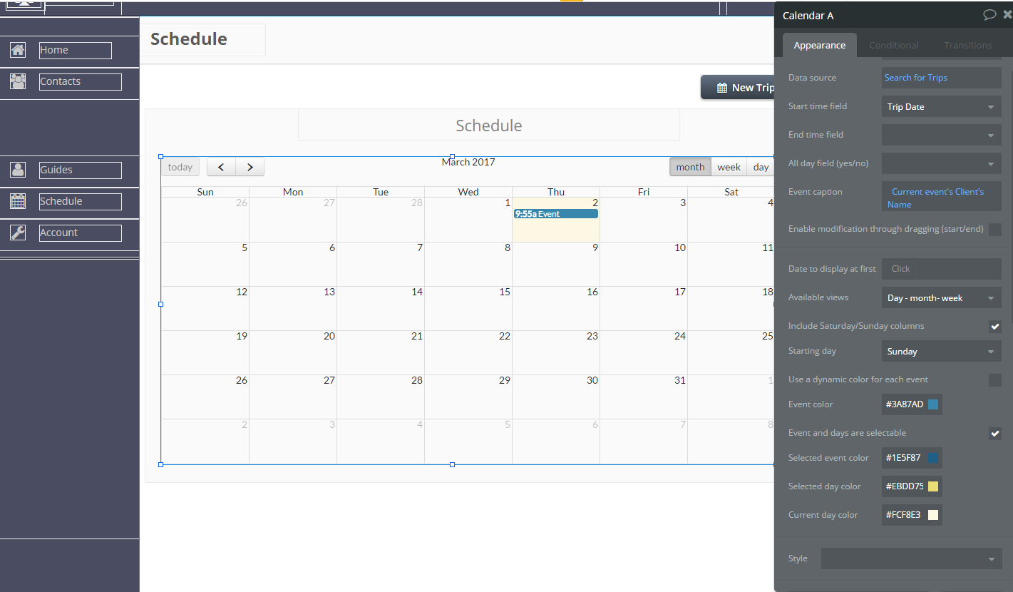 Need Help with Full Calendar - Plugins - Bubble Forum