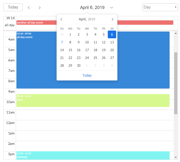 📆 Looking for testers for FullCalendar plugin - Plugins - Bubble Forum