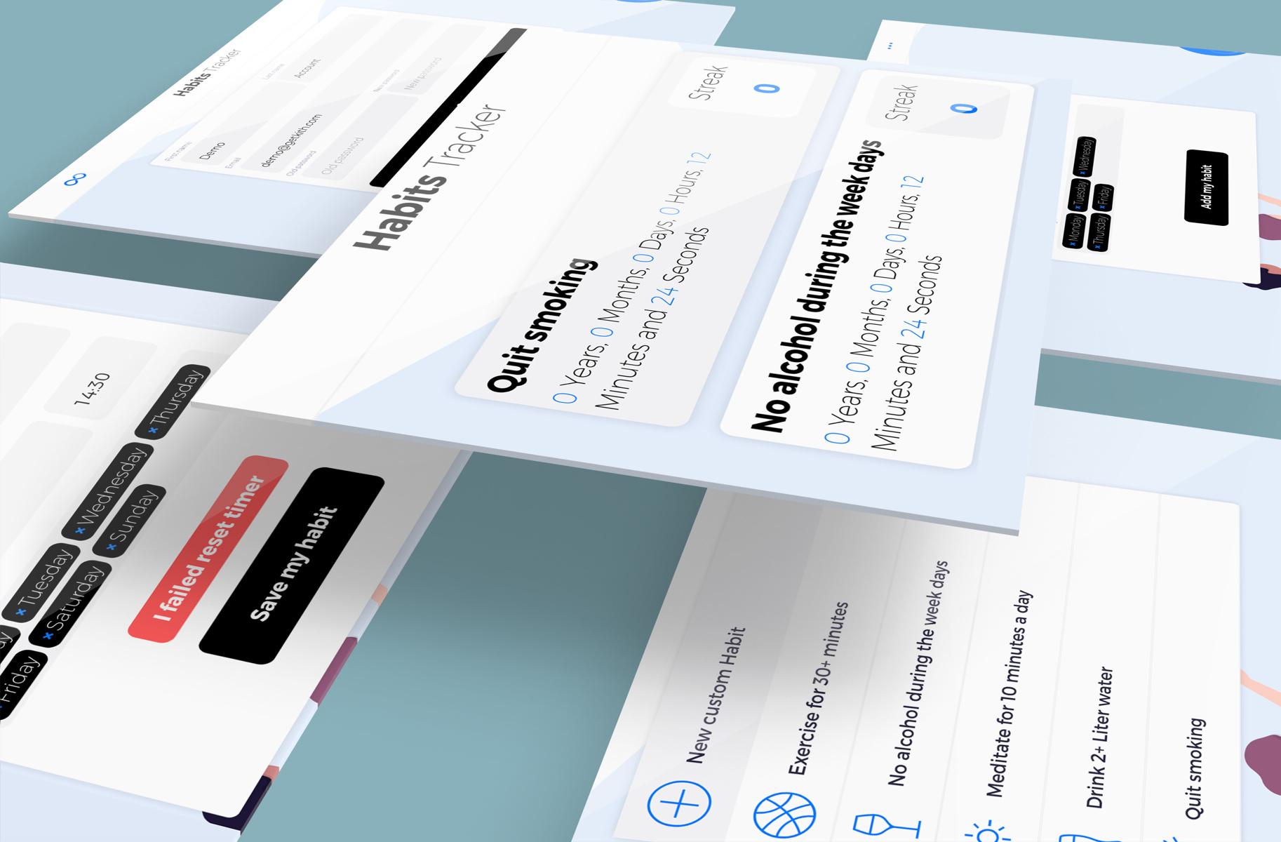 New template] SaaS Habit Tracker Template ♾ - Showcase