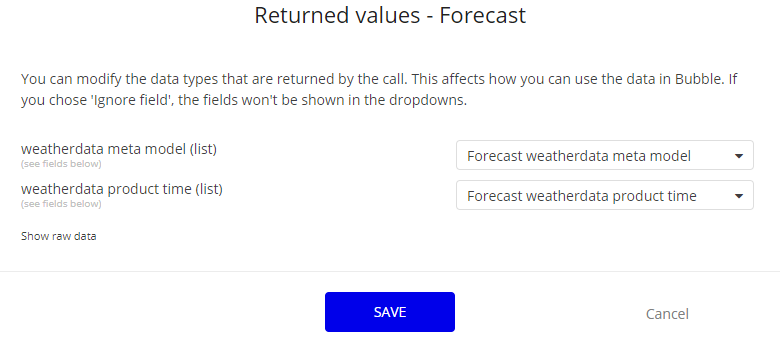Weather API for YR forcast - APIs - Bubble Forum