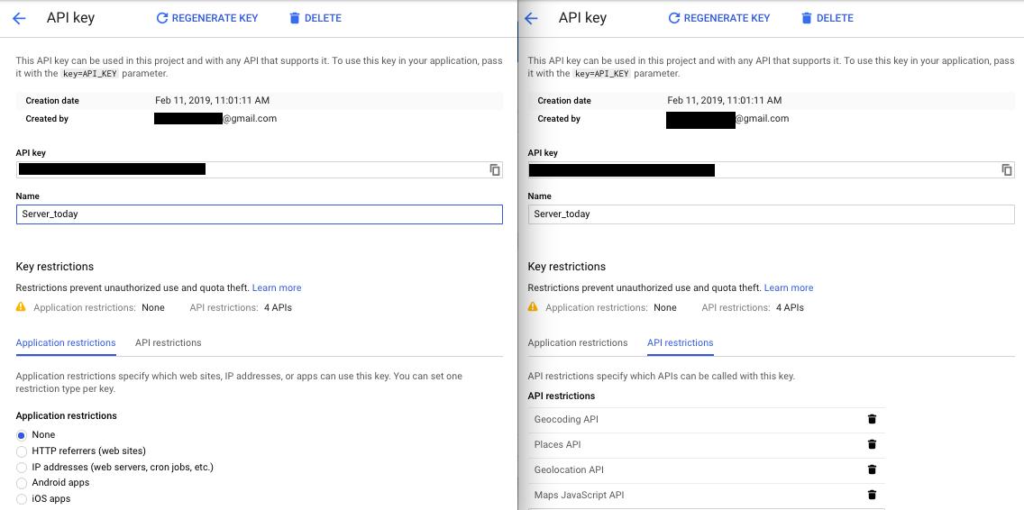 "How do resolve the Google MAP error: ""API keys with referer"