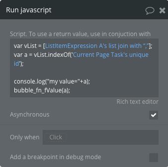 JS2BubbleScript