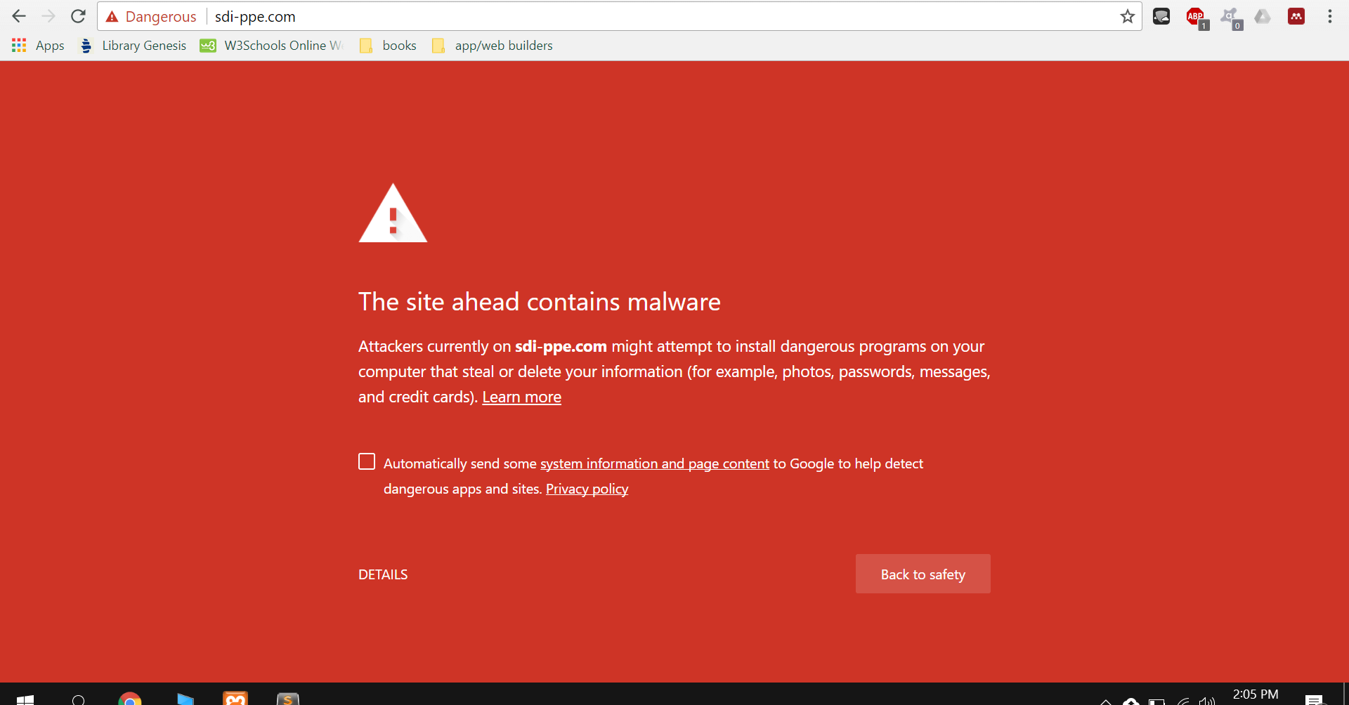 Website Contains Malware - Need help - Bubble Forum