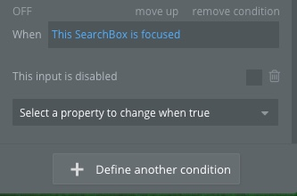 disabled conditional