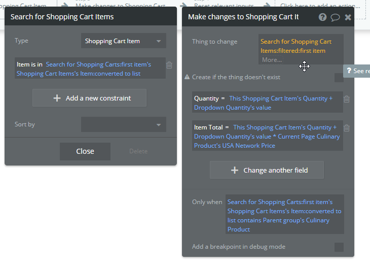how to add multiple products to shopping cart - need help - bubble forum  bubble forum