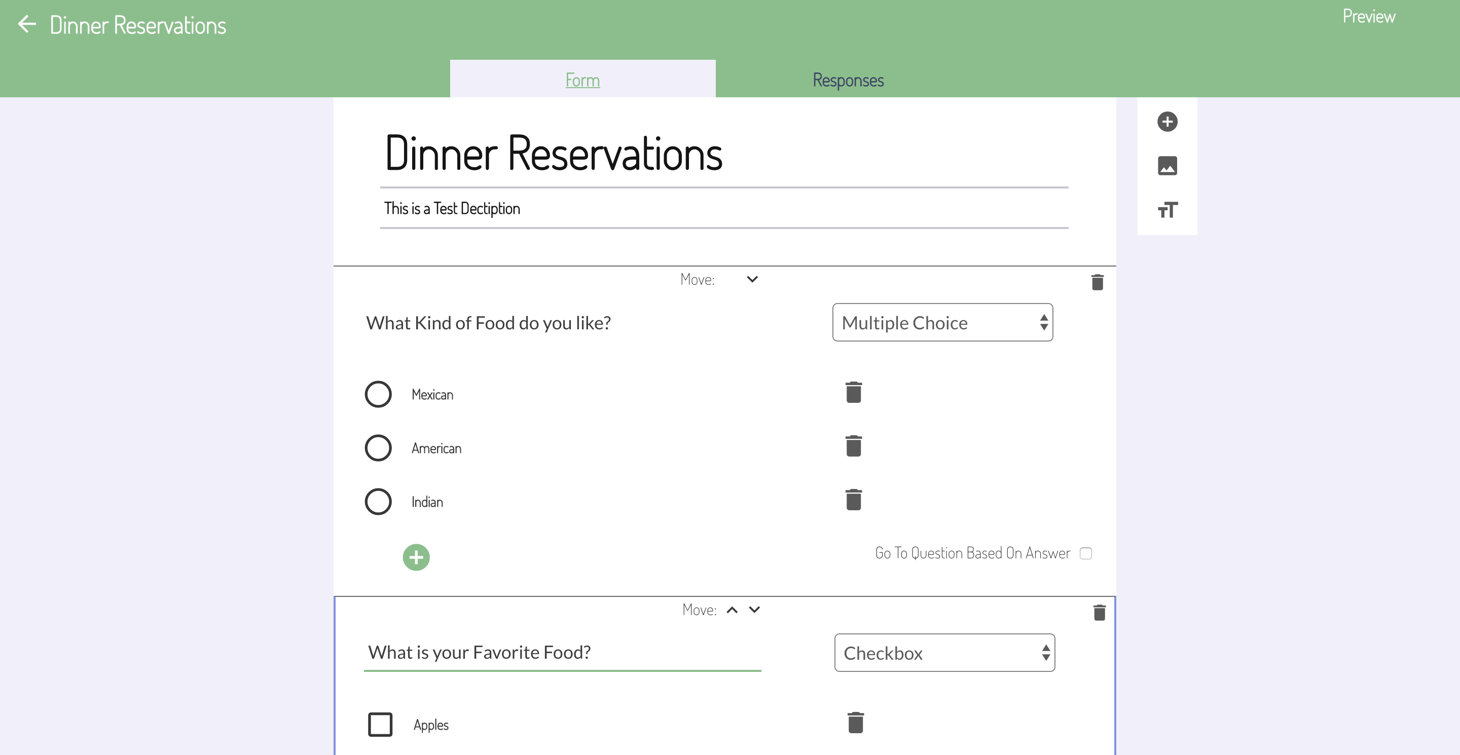 New Template Form Builder Similar To Google Forms Showcase