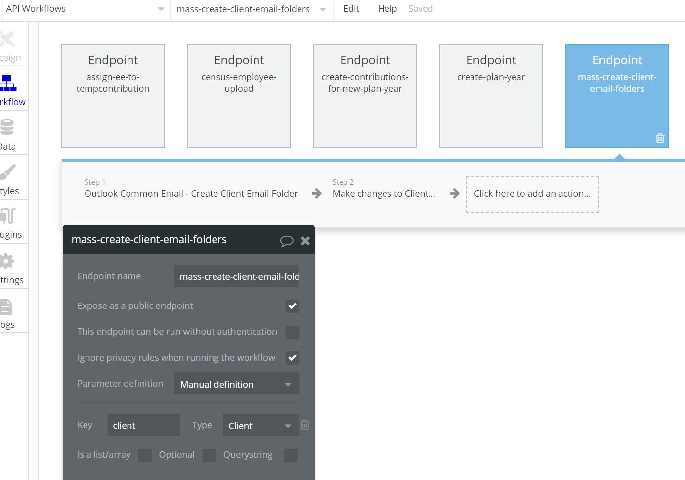 Initialized External API (Office 365) still fails for invalid token