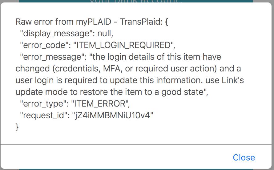 Plaid Plugin Help - Plugins - Bubble Forum