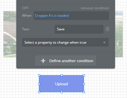 Is it possible to put a transparent guideline image over Croppie