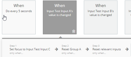 Reset content of input field - Bugs - Bubble Forum