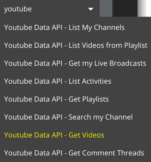Want to display ALL Videos of a YouTube Channel - APIs - Bubble Forum