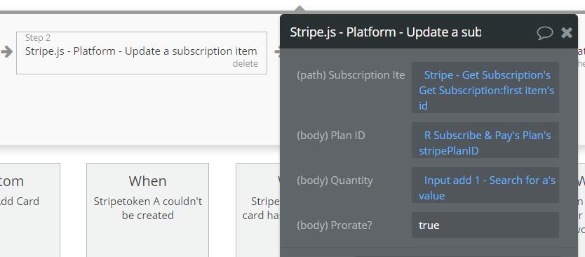 Stripe js Update Subscription Quantity - Plugins - Bubble Forum