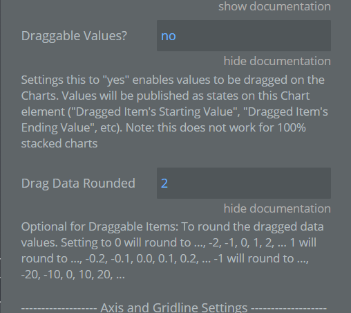 drag data options