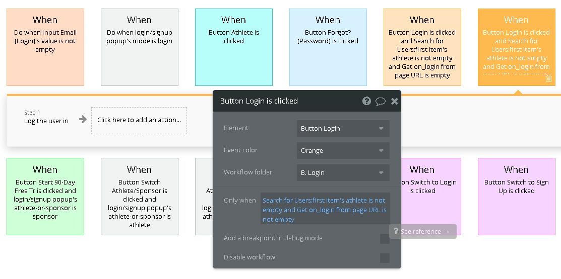 SSO Login workflow