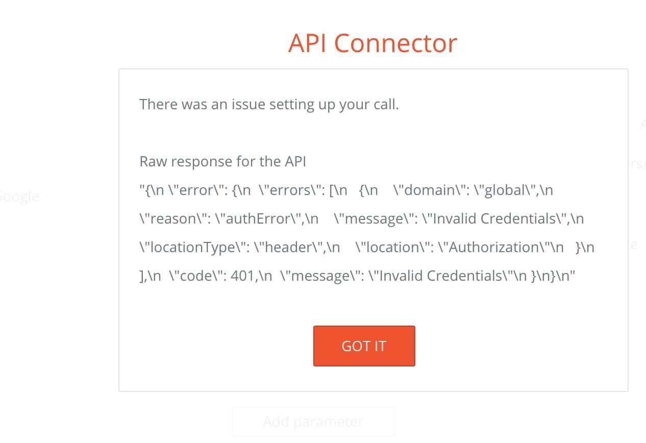 API Connector Google Calendar - APIs - Bubble Forum