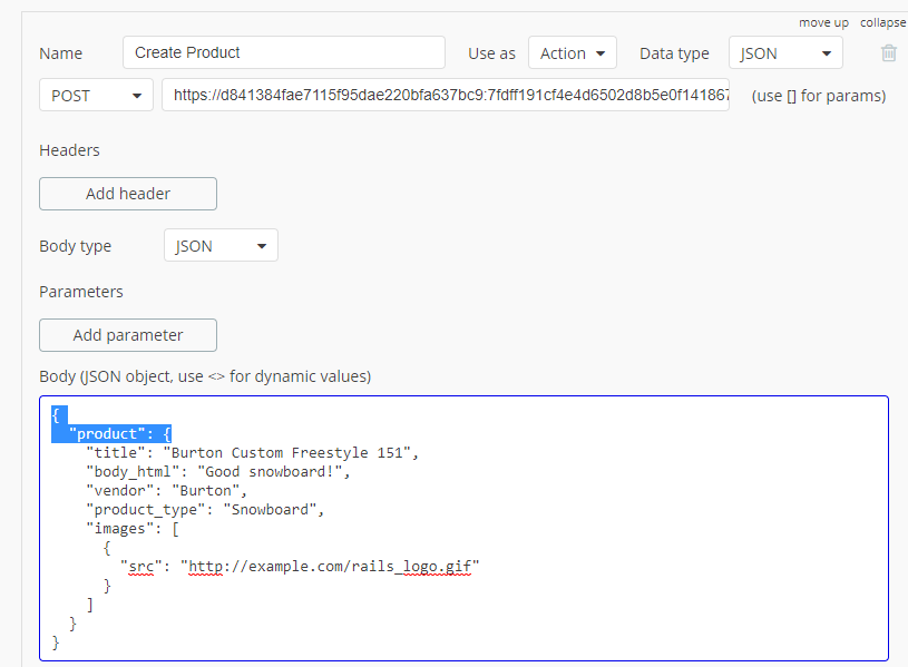 API Connector error with Shopify API - APIs - Bubble Forum