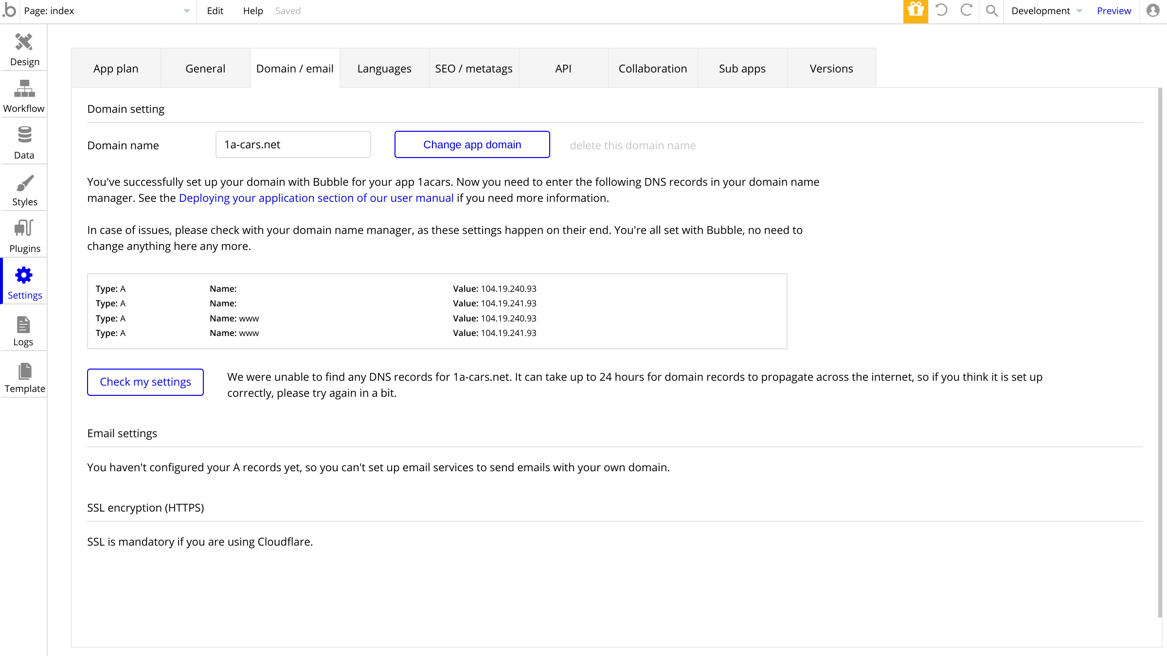 Connecting bubble.io with google domain   Need help   Bubble Forum