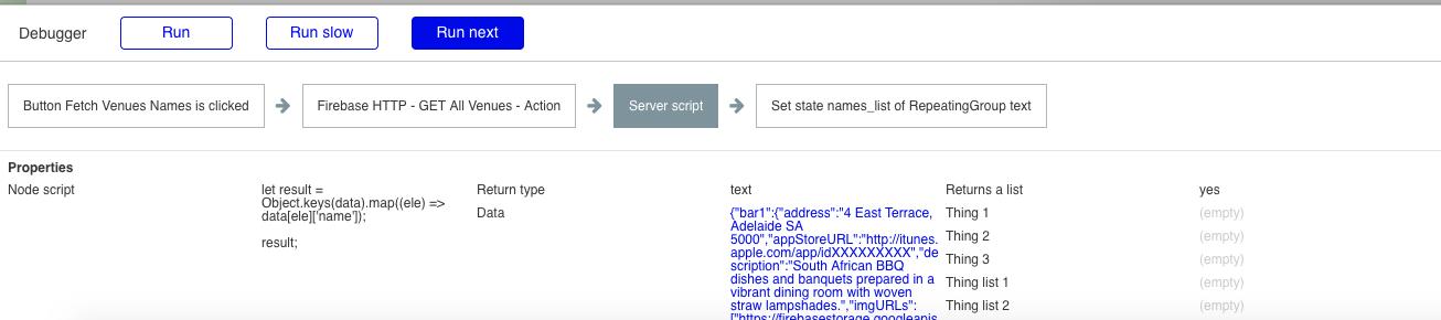 Javascript server side script to use in RG - Plugins